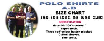 Polo Shirts A-D